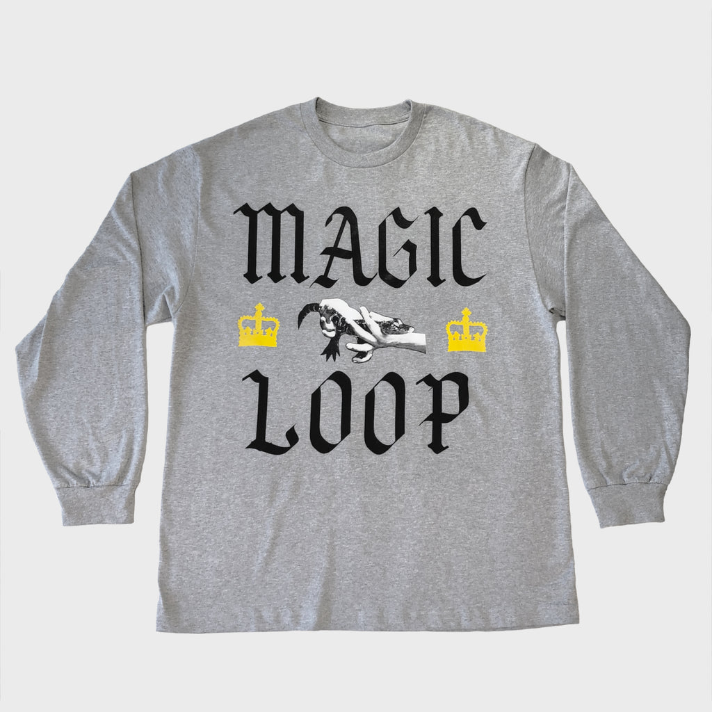 MAGIC LOOP LONG SLEEVE SHIRT (GREY)