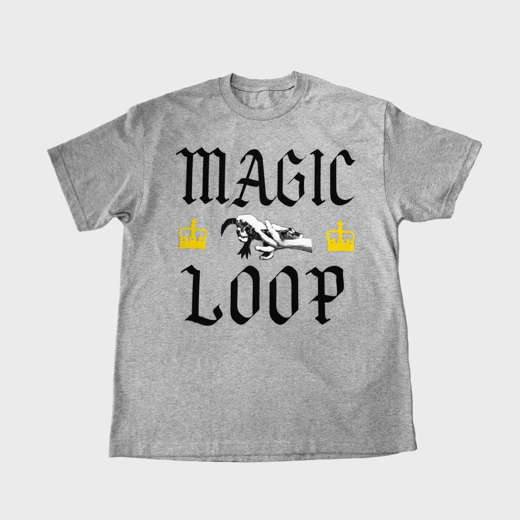 MAGIC LOOP TEE SHIRT (GREY)