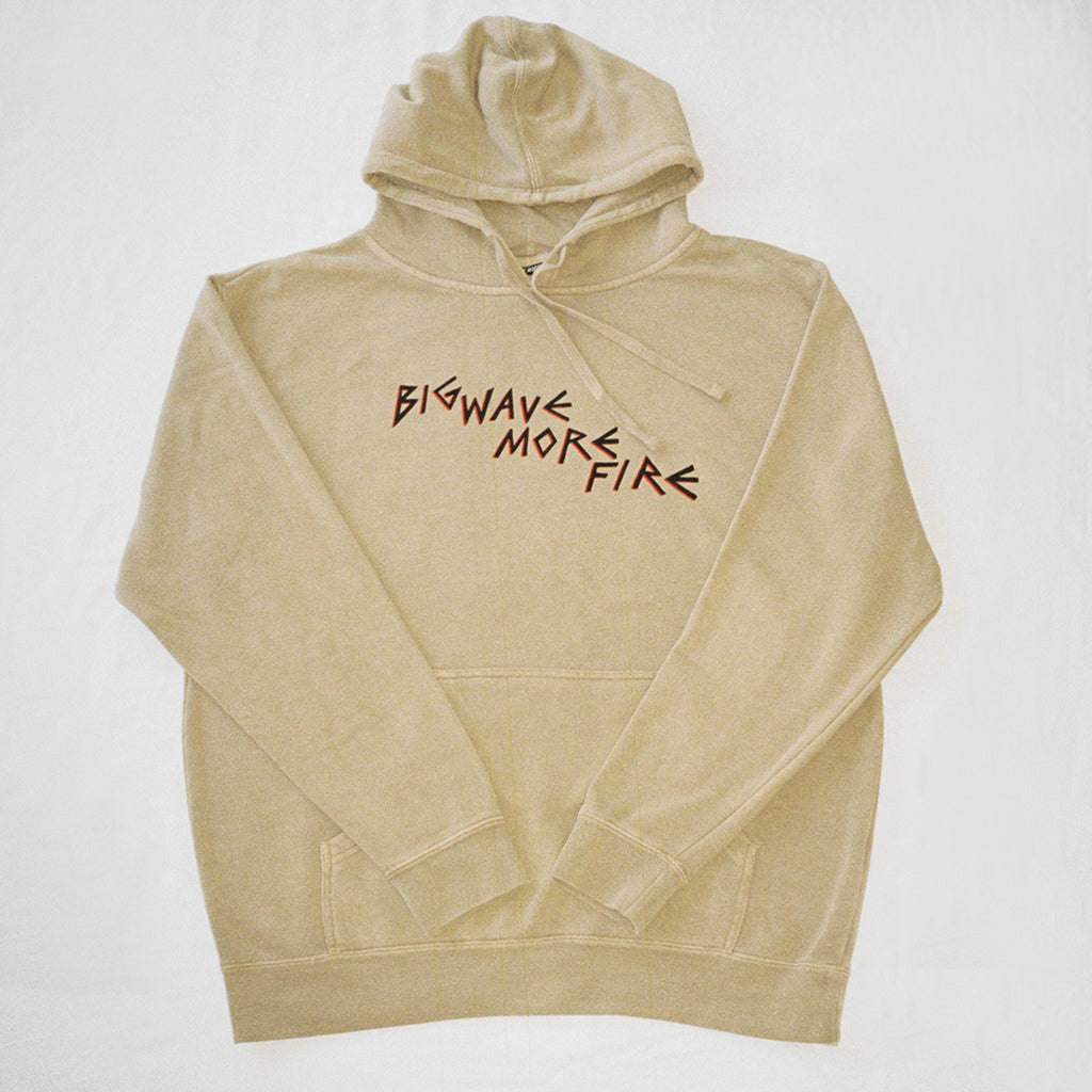 BWMF HOODED SWEATSHIRT (TAN)
