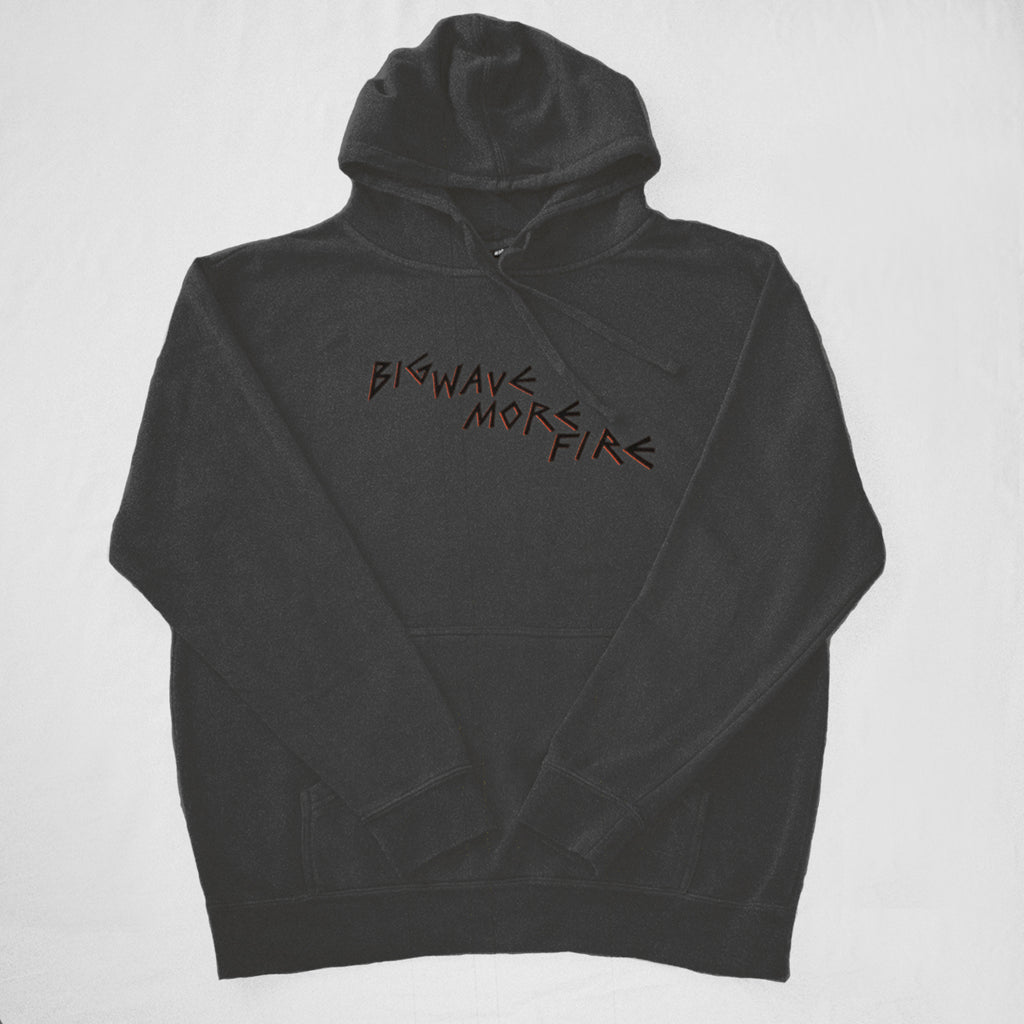 BWMF HOODED SWEATSHIRT (CHARCOAL)