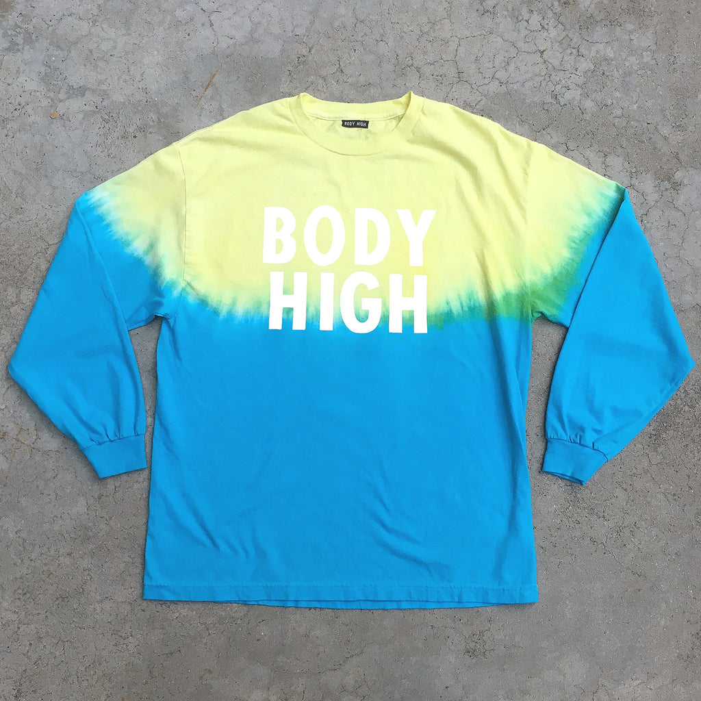 DIP DYE GRADIENT LONG SLEEVE