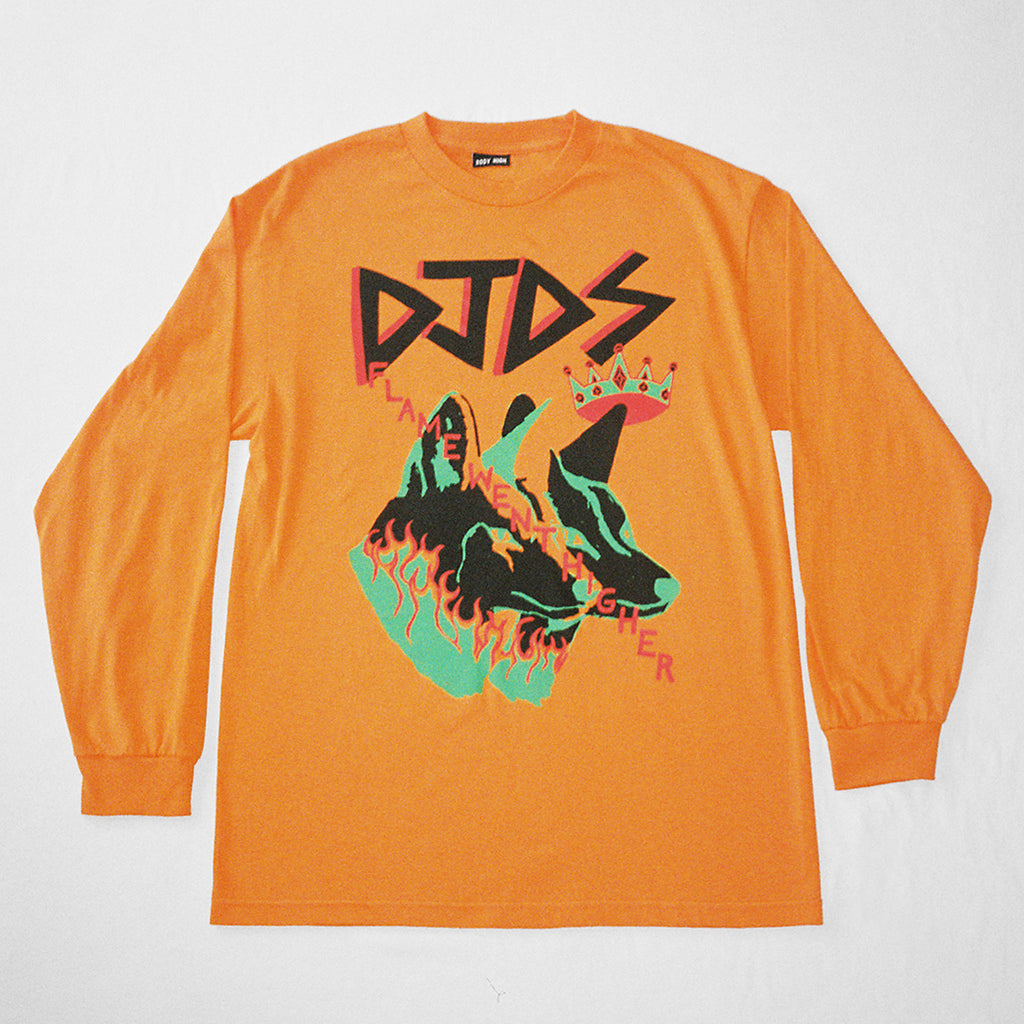 DJDS x COME TEES LONG SLEEVE (ORANGE)