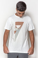 T-shirt Estampada Triângulo Invertido