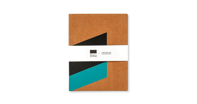 Caderno Grande Itsu + Chocolate Notebooks