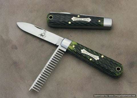 Great Eastern 152221 Tidioute Spring Green Jigged Bone. STORE KNIFE.