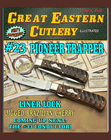Great Eastern 235120LL Tidioute Jigged Brazilian Cherry Trapper