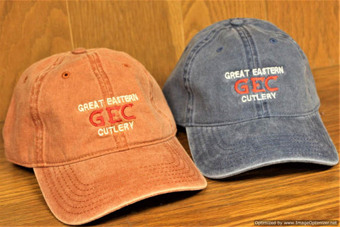 Orange GEC Hat.