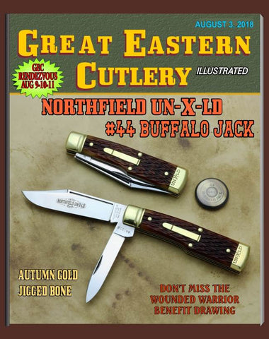 Great Eastern Northfield 441218 Buffalo Jack---Brass.   #91