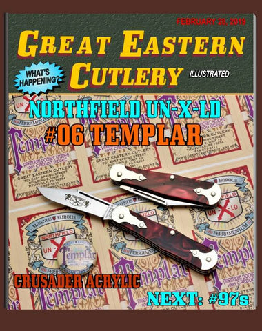 GEC Northfield 061119 Crusader Acrylic Templar.