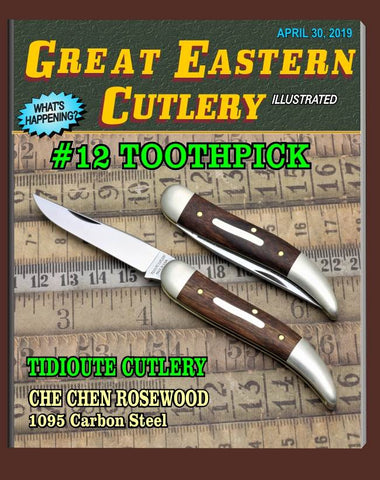 Great Eastern Tidioute 128113 Che Chen Rosewood Toothpick