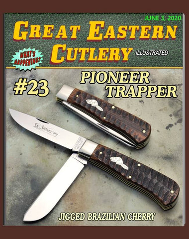 Great Eastern 235220 Tidioute Jigged Brazilian Cherry Trapper