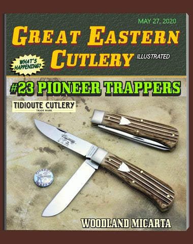 Great Eastern 235220 Tidioute Woodland Micarta Pioneer Trapper