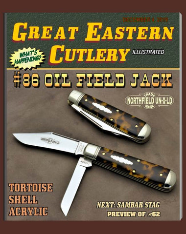 Great Eastern #861219 Tortoise Shell Acrylic Oil Field Jack.