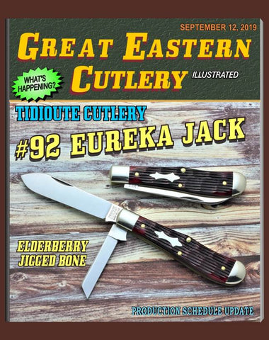 Great Eastern Tidioute #922219 Elderberry Jig Bone Eureka Jack.