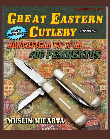 Great Eastern Northfield #06 Pemberton Muslin Micarta.
