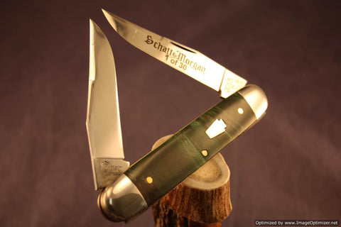 Schatt & Morgan Cutlery #331 Cigar Muskrat 1 of 30.   #1169