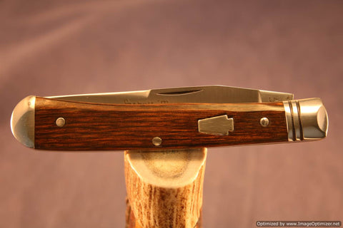 Schatt & Morgan Cutlery #19 Special Trapper 1 of 30 issued. #1256-1260
