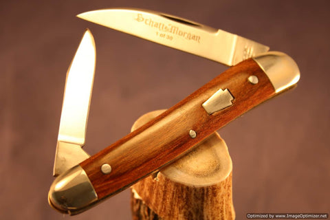 Schatt & Morgan Cutlery #54 Half Whittler, 1 of 30 Issued. #1271-1275