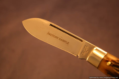 Schatt & Morgan Cutlery #06 Tear Drop Factory Sample 1 of 1.   #1322