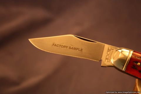 Queen Cutlery #99 Executive Jack, Factory Sample 1 of 2.   #1308