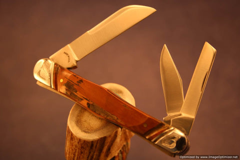 Tuna Valley Cutlery Mammoth Ivory Carpenter's Whittler. #542