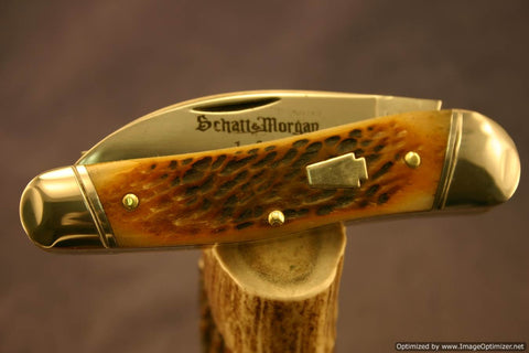 Schatt & Morgan #43 1/2 Half Whittler, 1 of 30 Issued #1163-1167