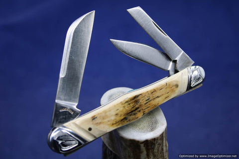 Tuna Valley Mammoth Ivory Carpenter's Whittler.   #512