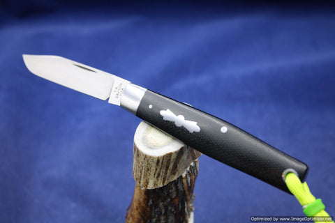 Todd Davison Custom Black G-10 Handled Folder. #1627