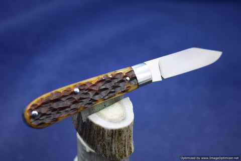 Todd Davison Custom Camel Jig Bone Folder.   #1639