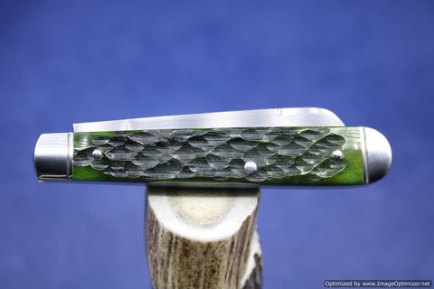 Todd Davison Green Jig Bone Folder.  #1712