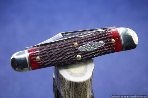 Great Eastern Northfield 291319 Blood Red Jigged Bone. Last one.