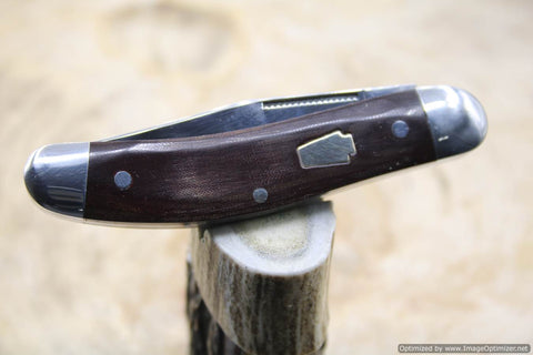 Schatt $ Morgan #60 Red Micarta Sowbelly Factory Sample 1 of 4 Issued.  #1666