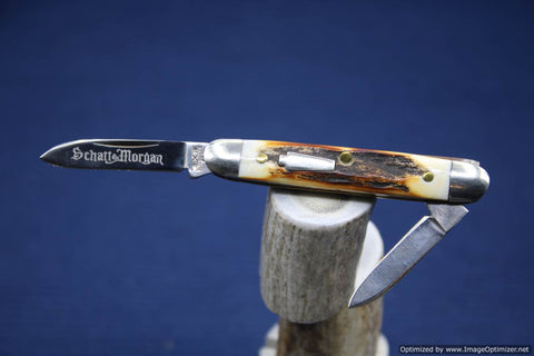 Schatt & Morgan #032206 Gentlemans Stag Small Senator. #743-745