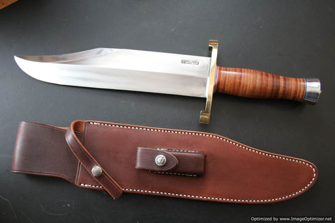 Randall Made Knives Model 12 Smithsonian Bowie.