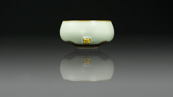 ".Anta Pottery. Emerald ""Heart Lightened"" Cup"