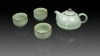 ".Anta Pottery. Emerald ""Wishful"" Tea Set"