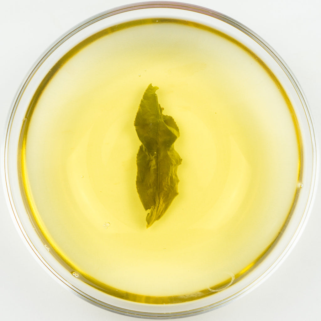 "Huagang ""Emerald"" High Mountain Jade Oolong Tea - Winter 2015"