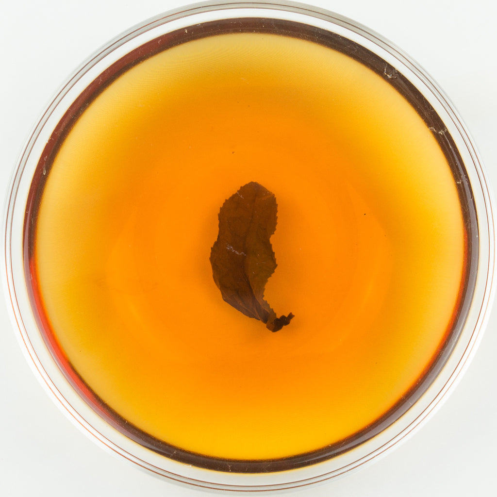 Gold Muzha Tie Guan Yin Organic Roasted Oolong Tea - Winter 2015