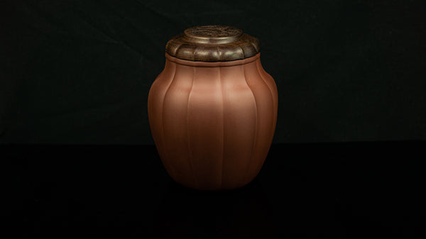 2010s Zisha Water Chestnut Style Tea Jar