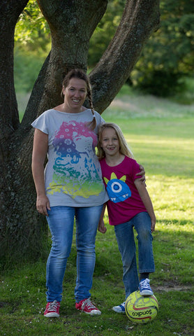 Cheryl Rickman and her daughter - co founders of Climbing Trees
