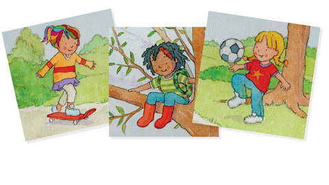 The Climbing Trees Girls - outdoors, sporty, creative, practical and capable