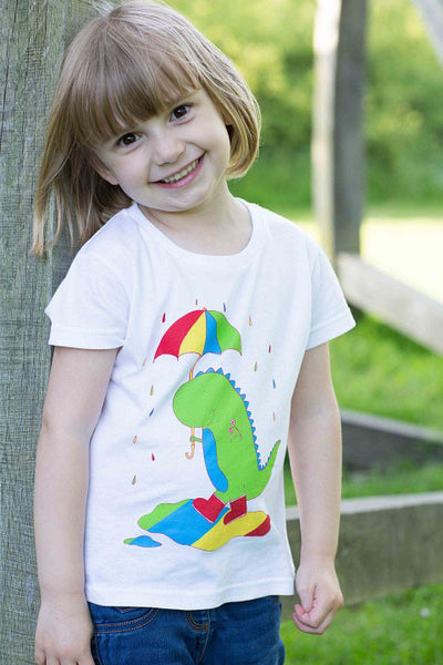 Dinosaur Rainbow Splash T-shirt