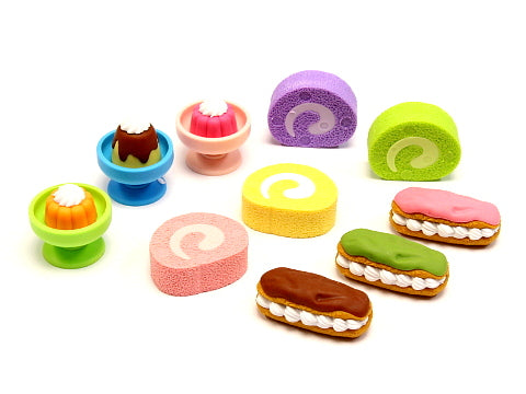 Iwako Assorted Eraser Tea Time