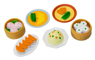 Iwako Assorted Eraser Chinese Food