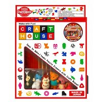 Iwako Eraser Craft House (Log House and Animal Set)