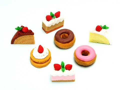 Iwako Assorted Eraser Cake No.1