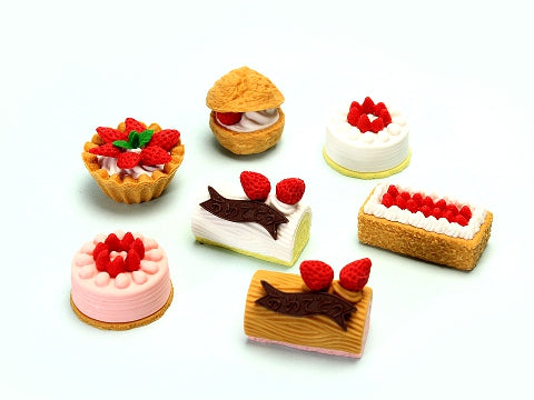 Iwako Assorted Eraser Cake No.2