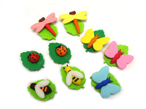 Iwako Assorted Eraser Insect Bug World