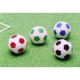 Iwako Assorted Eraser Soccer Ball
