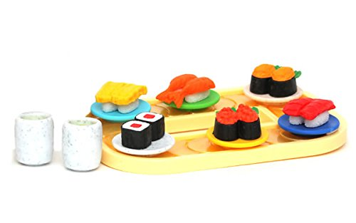 Iwako Blister Eraser Conveyor Belt Sushi